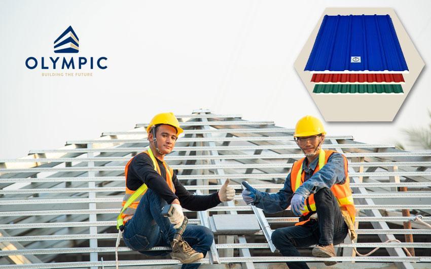 Tôn Olympic - lựa chọn cho mọi công trình
