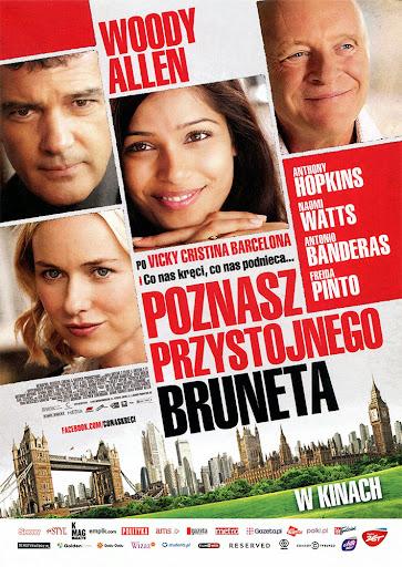 Przód ulotki filmu 'Poznasz Przystojnego Bruneta'