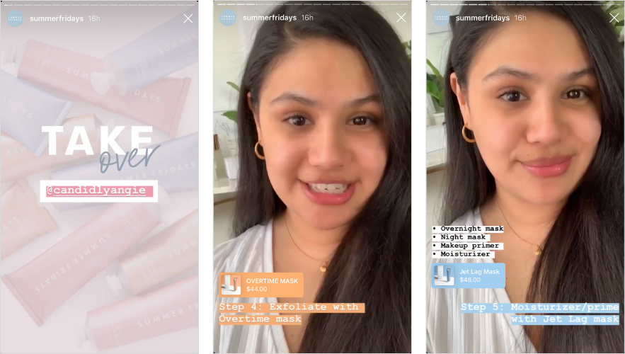 how to run an instagram stories takeover