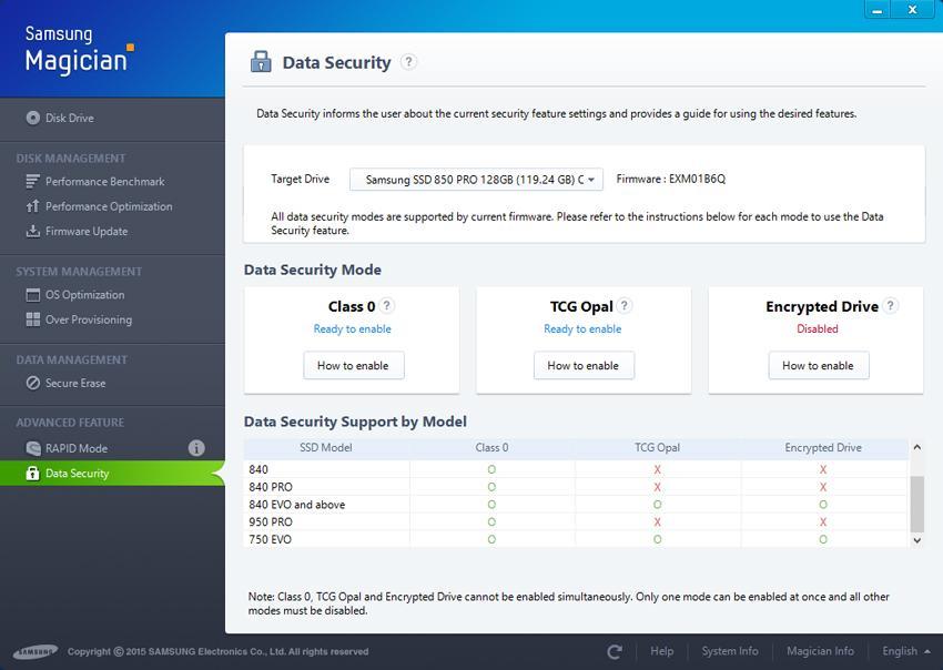 Tăng cường bảo mật bằng tính năng Data Security