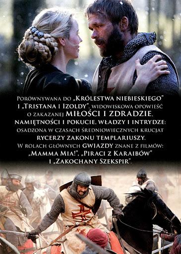Tył ulotki filmu 'Templariusze. Miłość i Krew'