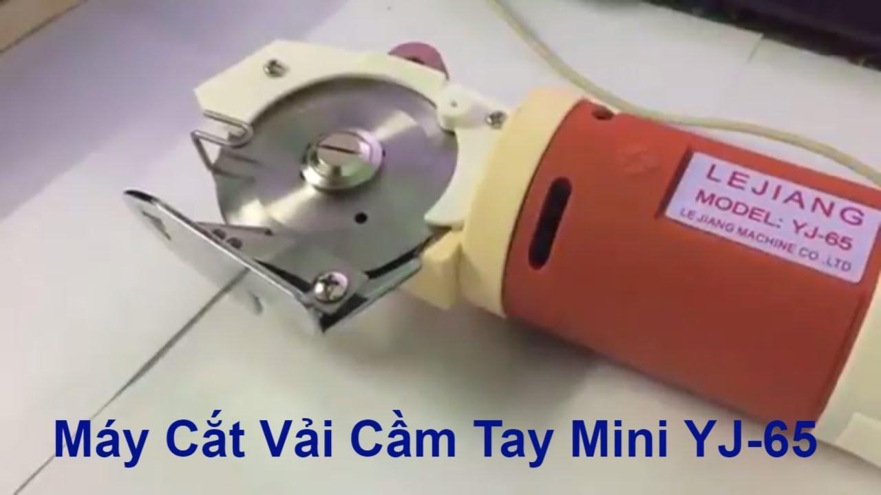 Chi tiết về máy cắt vải cầm tay mini yj 65