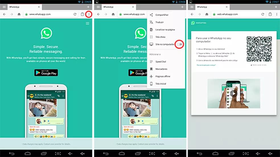 [Atualizado 2021] Como Usar O WhatsApp Web Tablet Android Em Poucos Passos 3