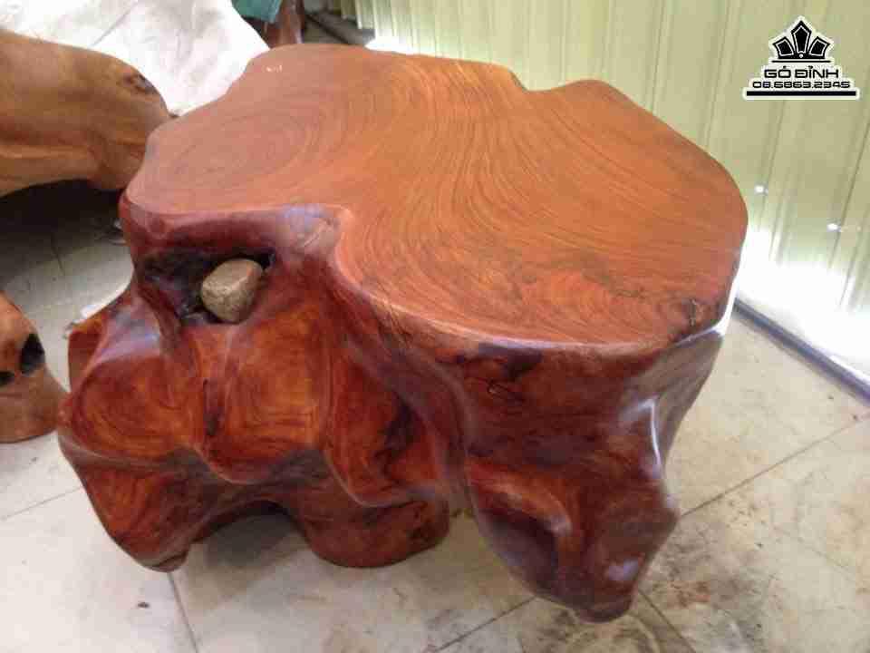 Đôn gỗ gốc cây