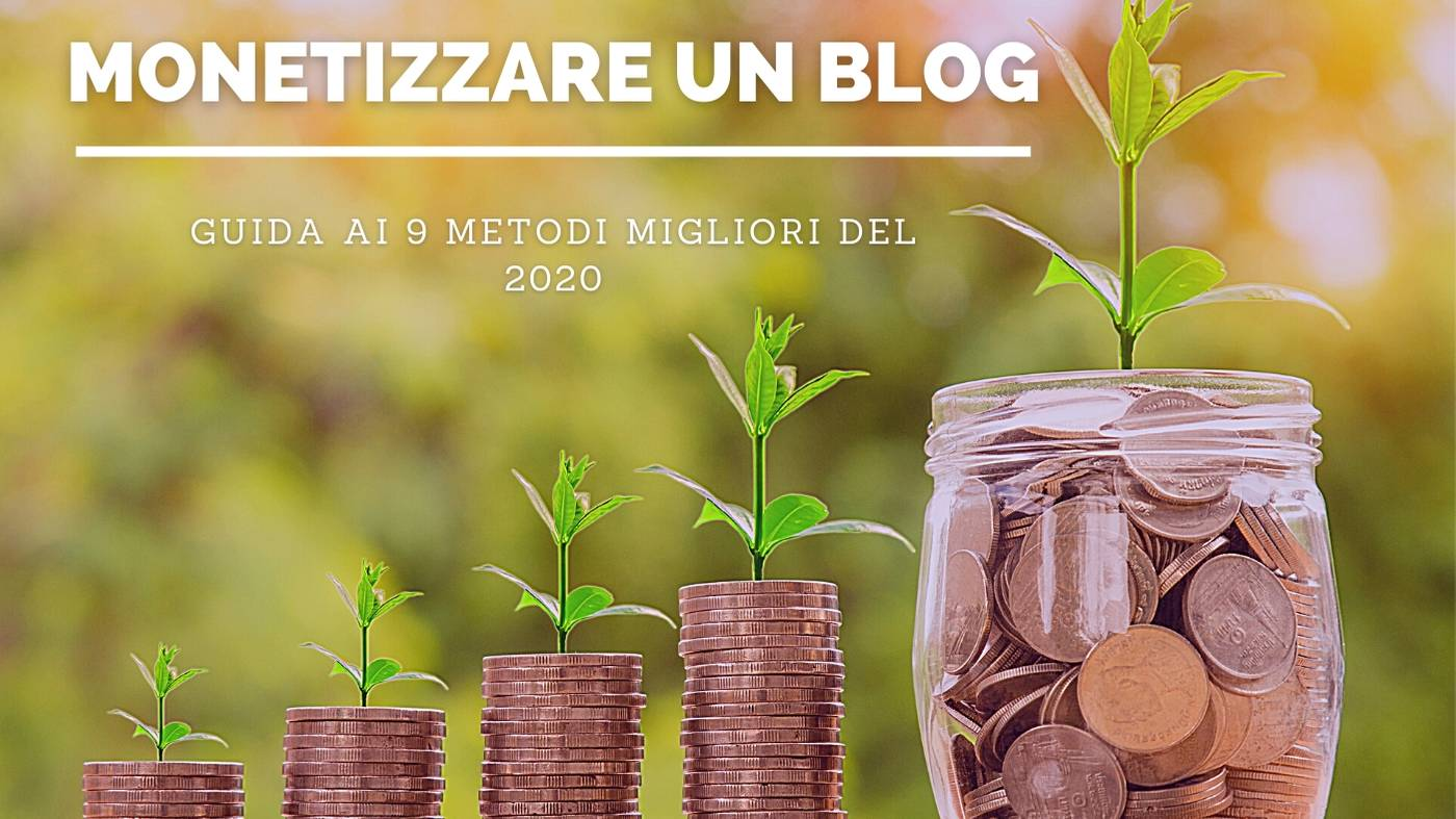 come monetizzare un blog