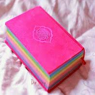 rainbow quran, Al-quran pelangi, quran rainbow karita