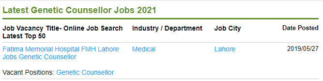 True Scope of Genetic Engineering in Pakistan [Career, Jobs, Salary] 8 - Daily Medicos