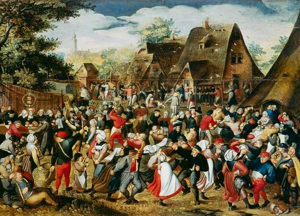 Pieter Brueghel le Jeune - La Fête de Village | Hieronymus bosch, Brueghel  l'ancien, Tableau renaissance