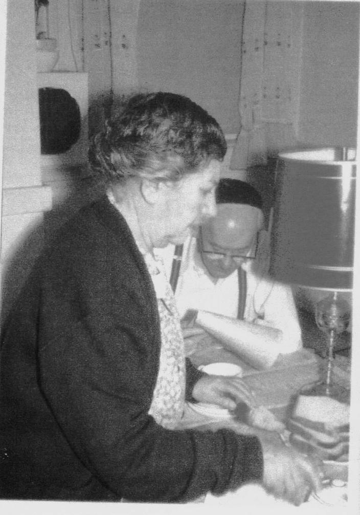 Borukh and Freda Meites
