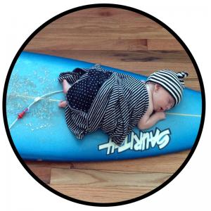Simon Newborn Surfboard
