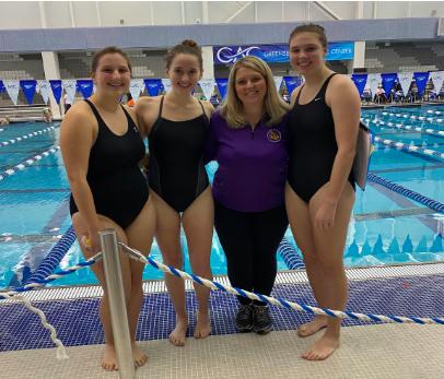 Senior Swim Athletes