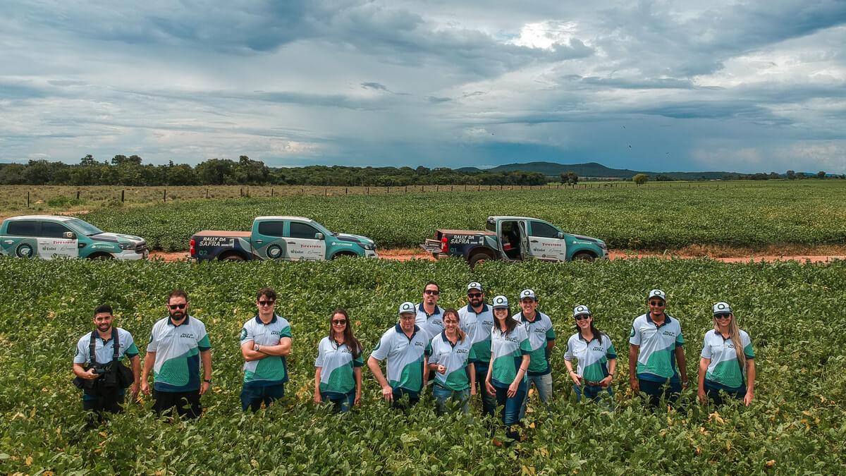 26 equipes percorrerão polos produtores para verificar o desenvolvimento das lavouras em novo formato do Rally da Safra. (Fonte: Agroconsult/Divulgação)
