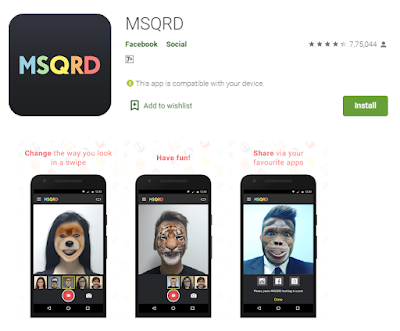 MSQRD avatar maker app