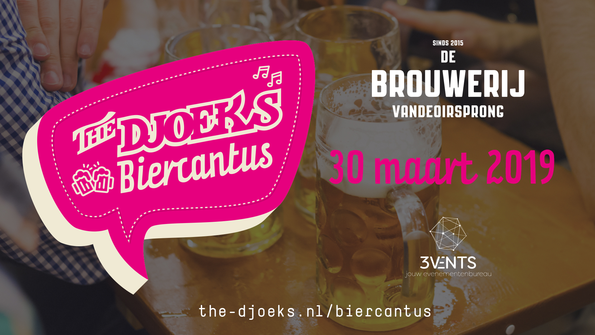 The Djoeks Biercantus - zaterdag 30 maart 2019 - De Brouwerij Vandeoirsprong