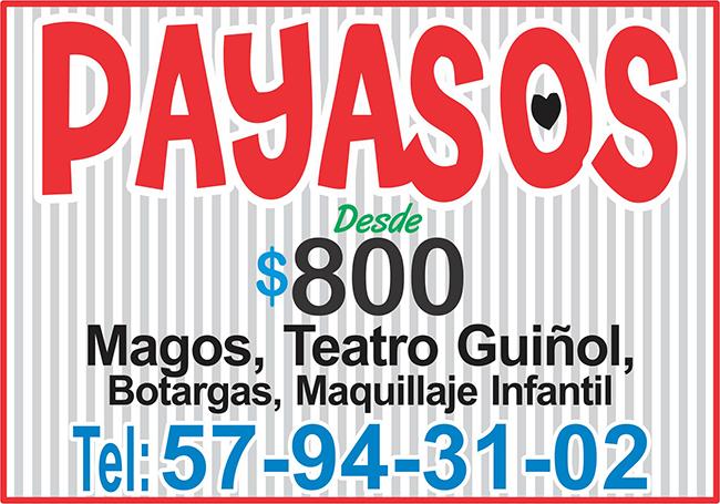 payasos 800