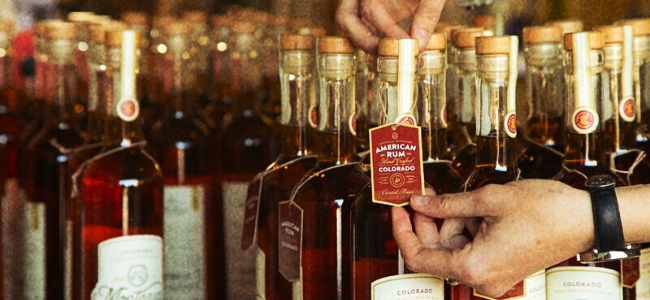 Hand-Numbered Tags Placed On Every Bottle Of Montanya Rum