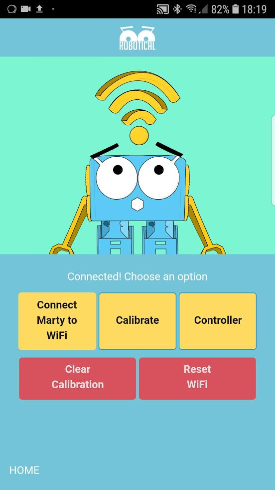 Direct Connect – Marty the Robot