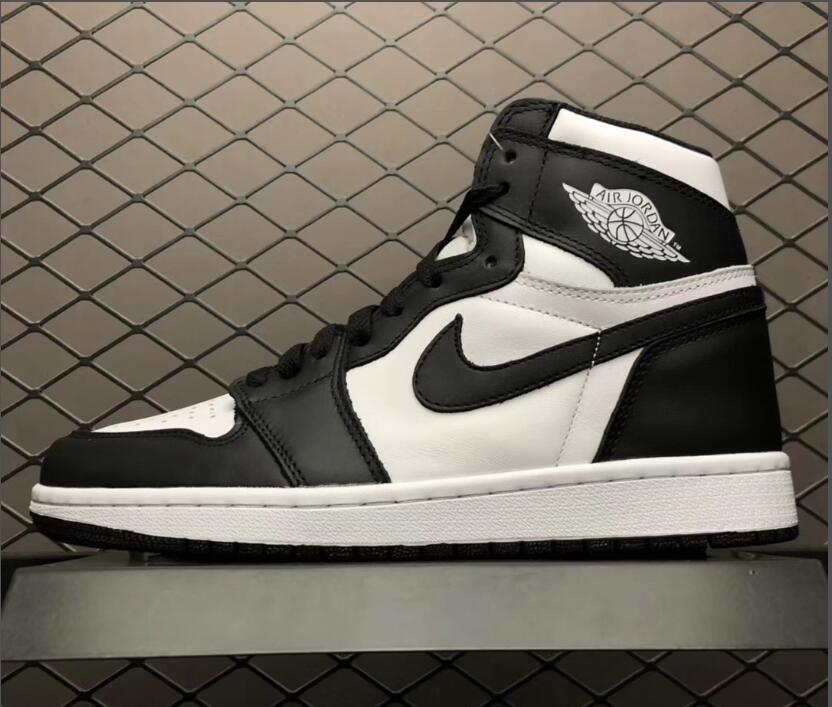 Giày sneaker Nike Jordan 1 Đen Trắng