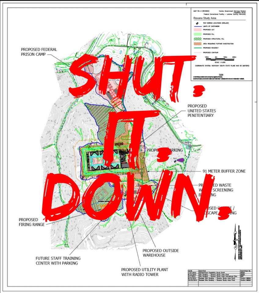 Shut it Down EIS Roxana map