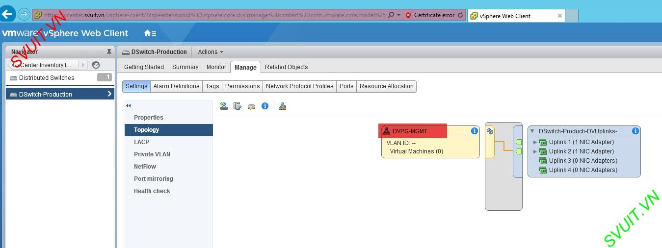 create vSphere Distributed port group (5)