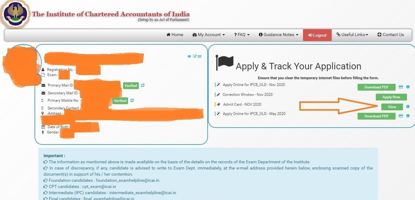Official Announcement: CA Exam Admit Cards Out | Steps to Download & Other Necessary Updates 2