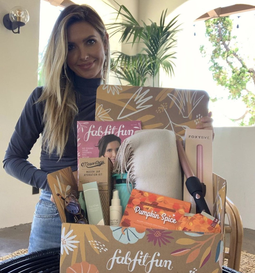 Reality TV Star Audrina Patridge promoting beauty products
