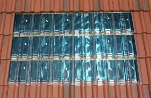 Tuile solaire Caleosoleil pour chauffage solaire / plancher chauffant solaire