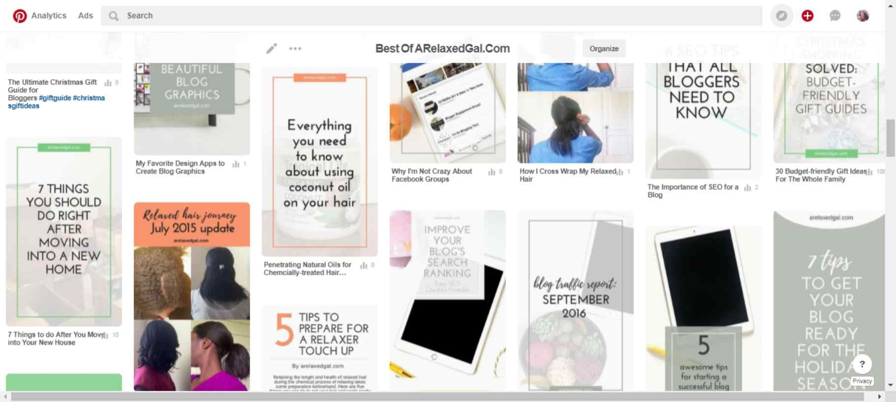 A Relaxed Gal Pinterest pin templates | ARelaxedGal.com