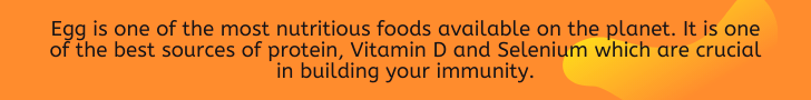 Egg is the most nutritious food