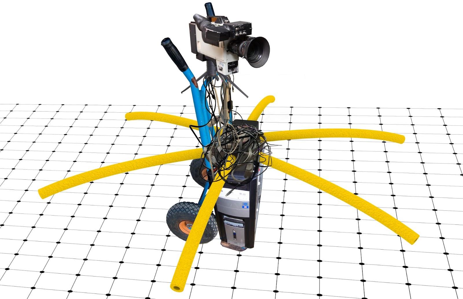 CAD rendering of Mrs. Robot