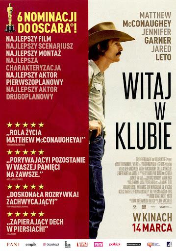 Przód ulotki filmu 'Witaj W Klubie'