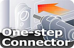 Logo One-step connector