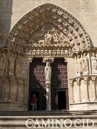 Resultado de imagen de puerta de catedral gótica de Burgos