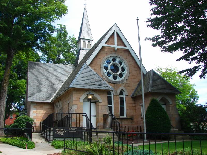A picture of Thomas L. Kane Chapel.
