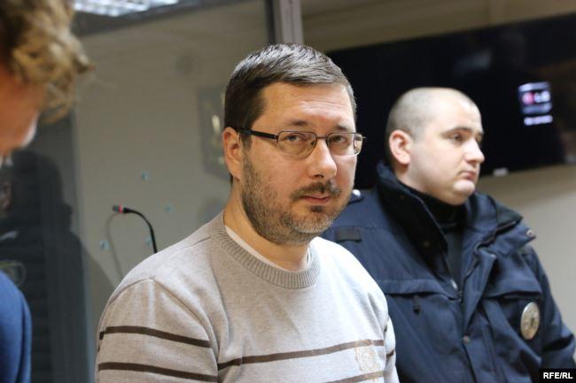 Станіслав Єжов у суді. 26 листопада 2018 року