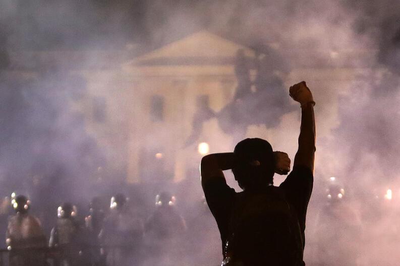 protestas george floyd black lives matter mayo 31 2020 white house washington dc 01