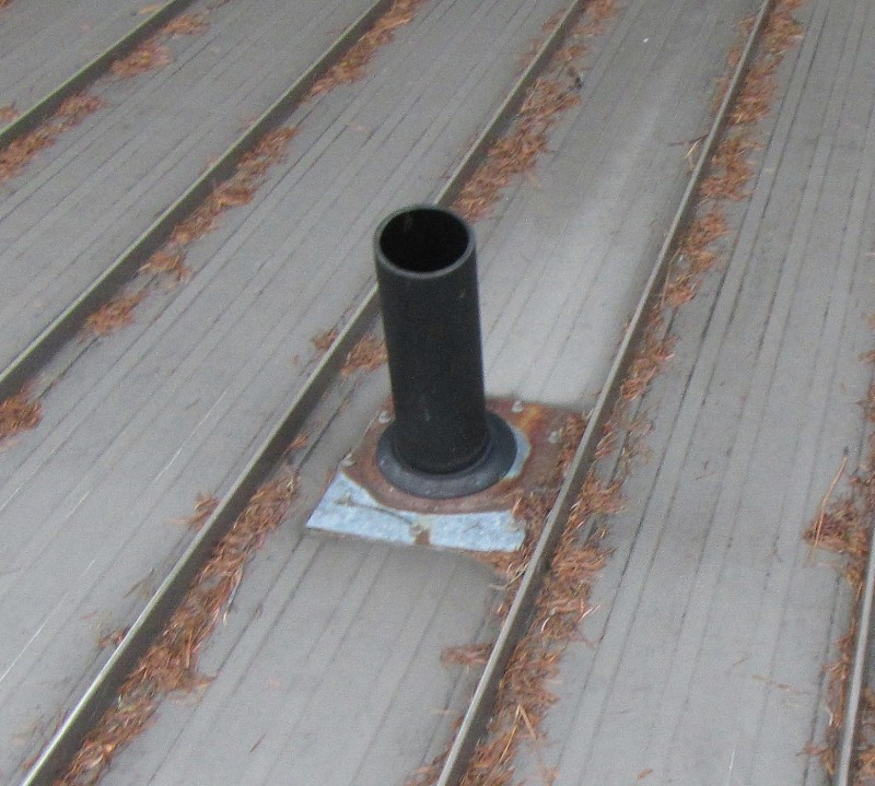 Roof penetration boot for wire agree