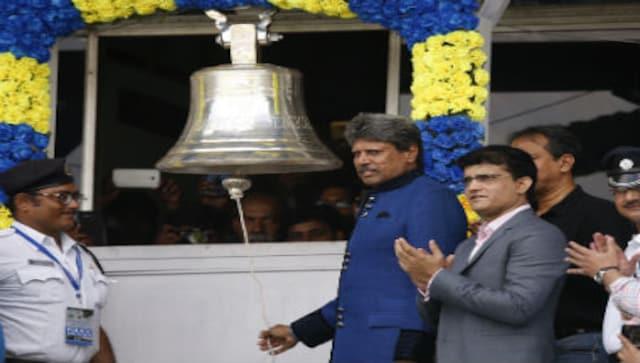 India vs New Zealand: Kapil Dev inaugurates bell ringing ritual at Eden Gardens