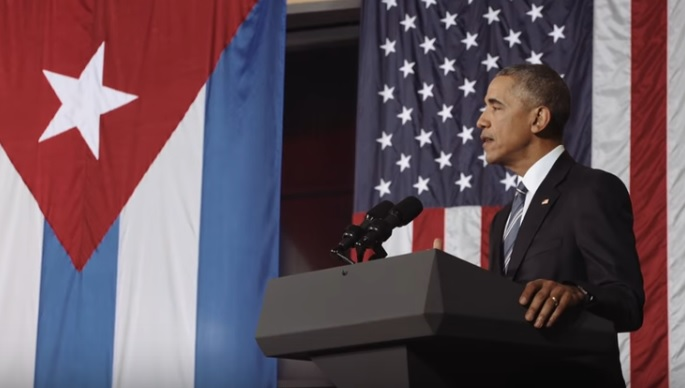 OBAMA CUBA WH.GOV VIDEO