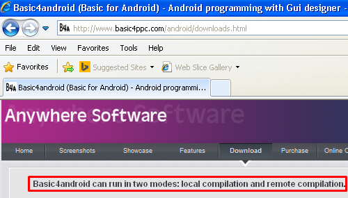 Android Development Steps: Basic4Android Version 3 Tutorial