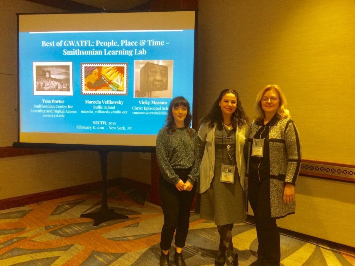 NECTFL 2019 - Tess, Marcela, and Vicky