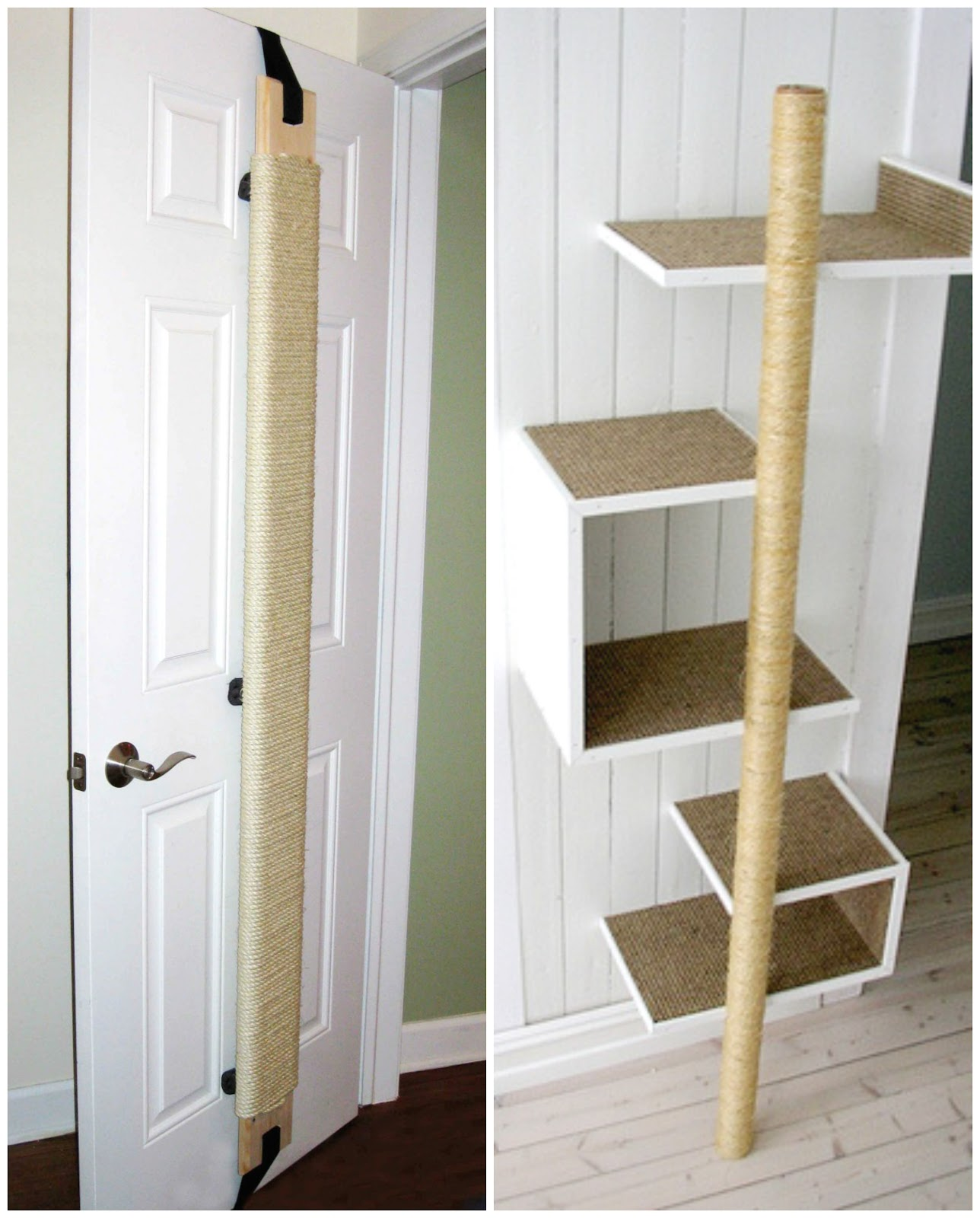 how to build a scratching post for cats blog tools4pro. Black Bedroom Furniture Sets. Home Design Ideas