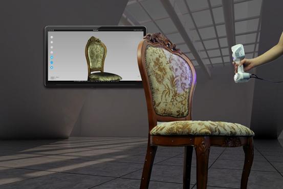 3D scanning of furniture