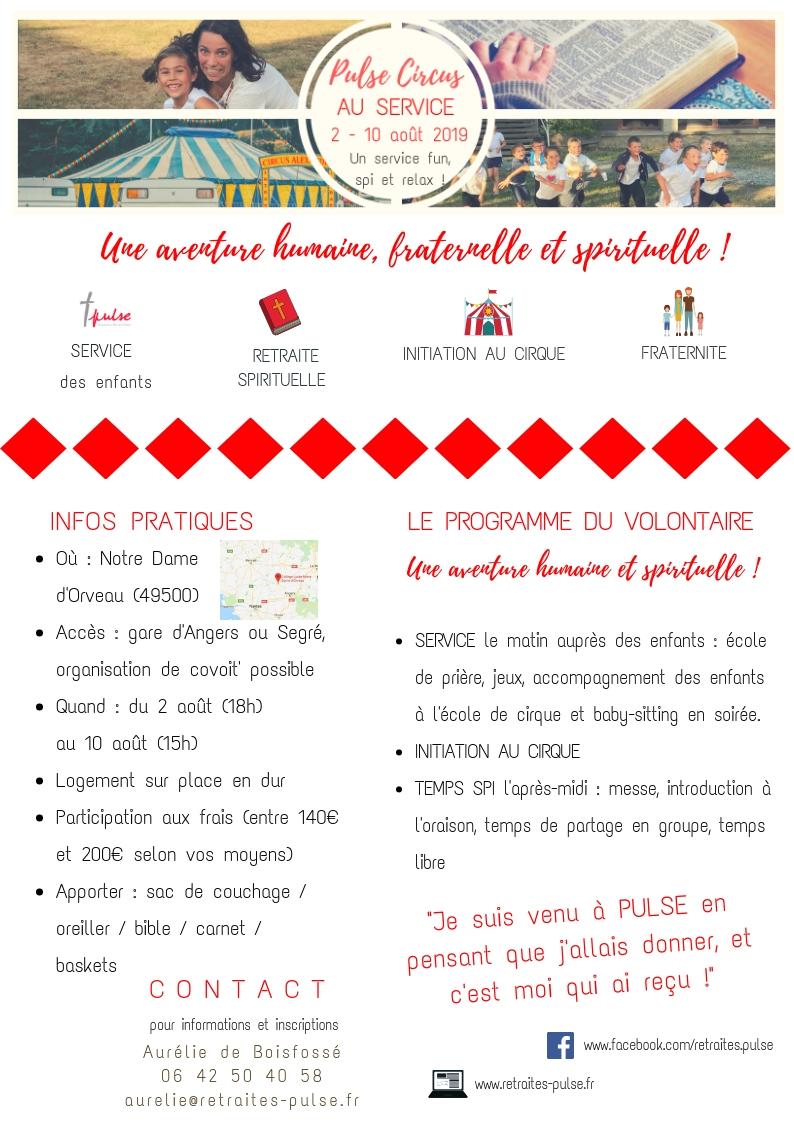 ATTENTION : grâce à des dons, le prix de la semaine est aujourd'hui de 110 euros, mais cela ne doit pas être un frein à votre participation !