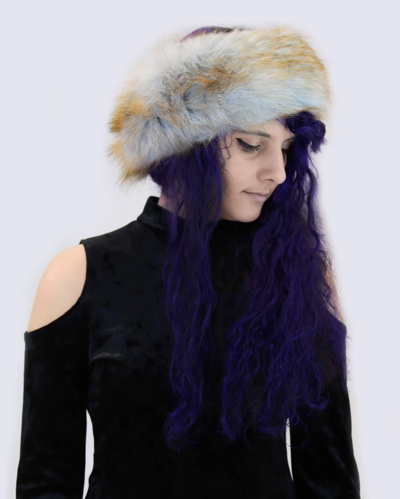 Faux Fox Fur Headband/Scarf