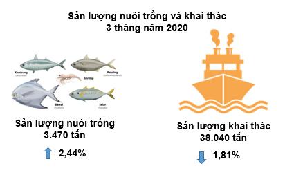 Sản lượng thủy sản Bình Thuận