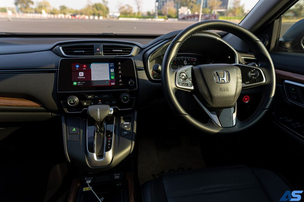 ดีไซน์ภายในรถยนต์ : Honda CR-V 2021