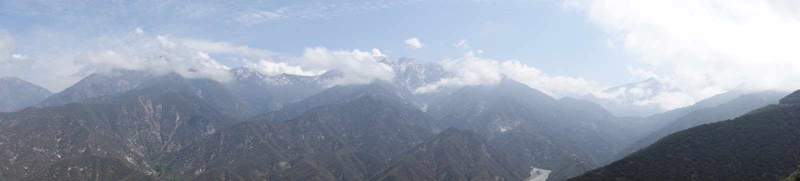 Cycling through San Gabrial Canyon