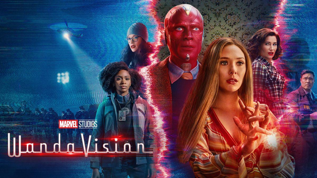WandaVision poster Marvel, Disney+