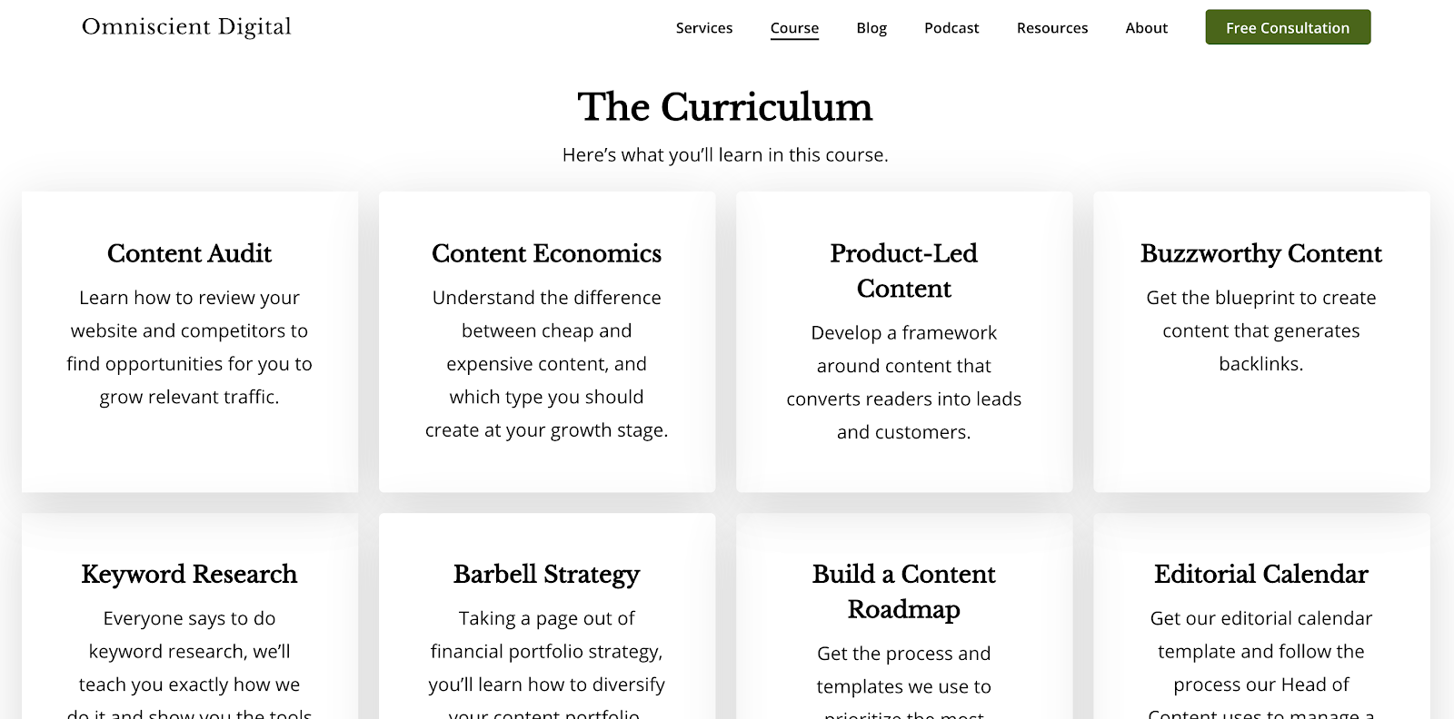 content repurposing omniscient digital content strategy course